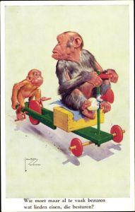Ak Wood, Lawson, Schimpanse, Gran' Pop Series 2758