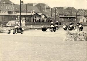 Foto Motorradrennen, Sidecar Racing, Motorräder mit Beiwagen