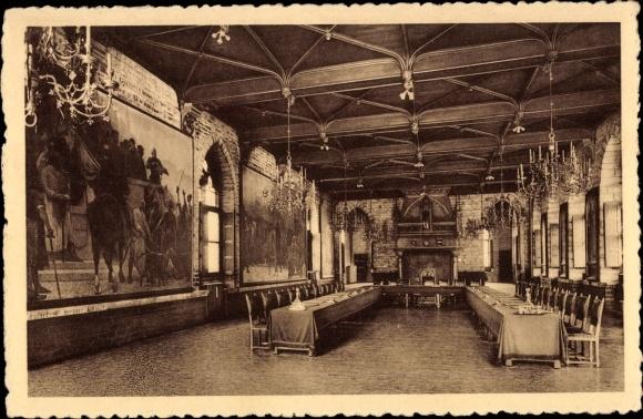 Ak louvain leuven les halles salle des pasperdus nr for Interieur leuven