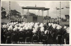 Foto Ak Essen im Ruhrgebiet Nordrhein Westfalen, 71. Katholikentag 1932