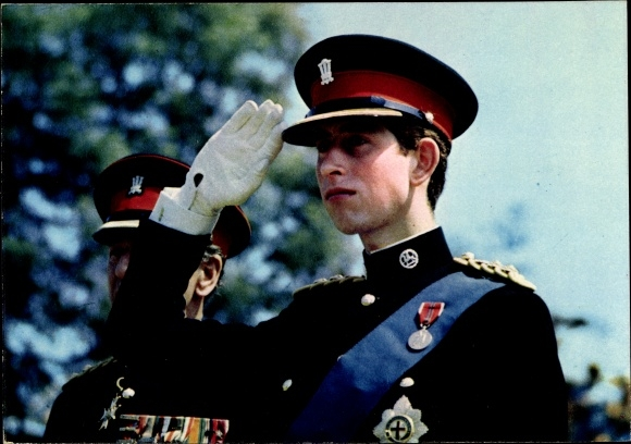 Ak The Prince of Wales, Colonel in Chief, Royal Regiment of Wales, Prince Charles, Portrait