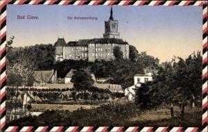 Ak Kleve am Niederrhein, Blick auf die Schwanenburg