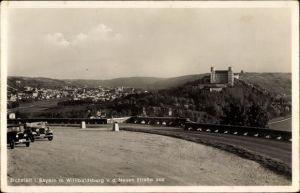 Ak Eichstätt in Oberbayern, Ansicht der Willibaldsburg von der Neuen Straße aus