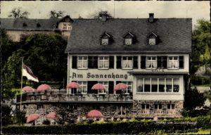 Ak Espenschied Lorch im Rheingau Taunus Kreis Hessen, Hotel am Sonnenhang, Bes. F. Befard