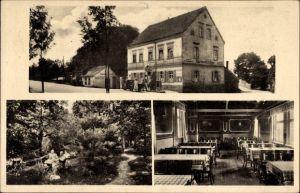 Ak Zwenkau in Sachsen, Gasthof Harthschlösschen, Bes. Paul Lippmann