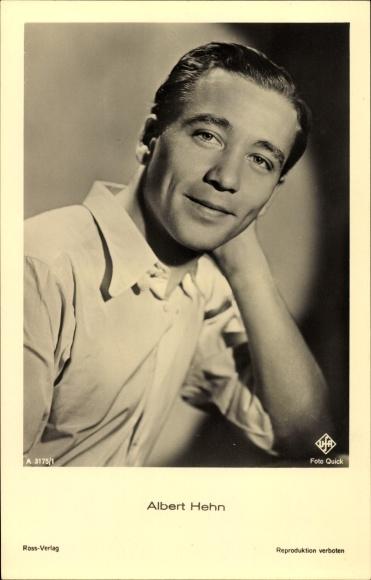 Ak Schauspieler Albert Hehn, Portrait, UFA Film A 3175 1