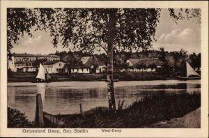 Ak Mrzeżyno Deep Pommern, West Deep, Wasserpartie