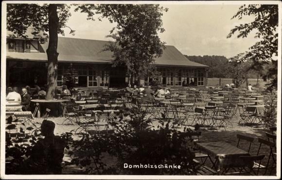 Foto Ak Dölzig Schkeuditz in Nordsachsen, Domholzschänke, Bes. Arth ...