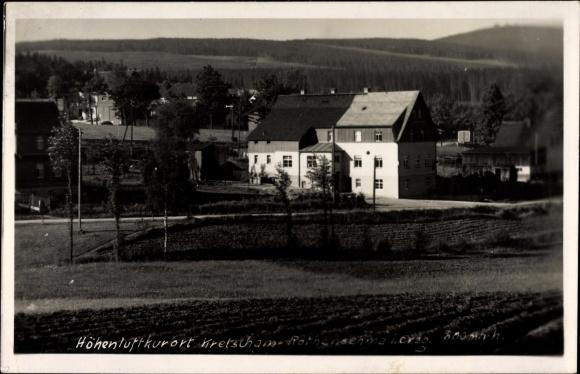 Foto Ak Kretscham Rotensehma Sehmatal Erzgebirge, Blick auf Ortschaft und Umgebung