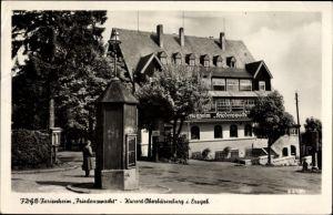 Ak Oberbärenburg Bärenburg Altenberg im Erzgebirge, FDGB Ferienheim Friedenswacht