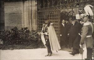 Ak Bern Stadt Schweiz, Kaiser Wilhelm II., Staatsbesuch 1912, Ludwig Forrer