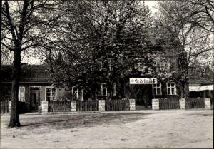 Ak Oberjünne Planebruch in Brandenburg, Gasthaus Zum Heidekrug