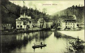 Ak Lauenhain Mittweida in Sachsen, Blick auf die Mühle