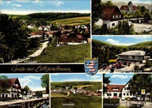 Ak Lettgenbrunn Jossgrund in Hessen, Stadtansichten, Sudetenhof, Znaimer Hof