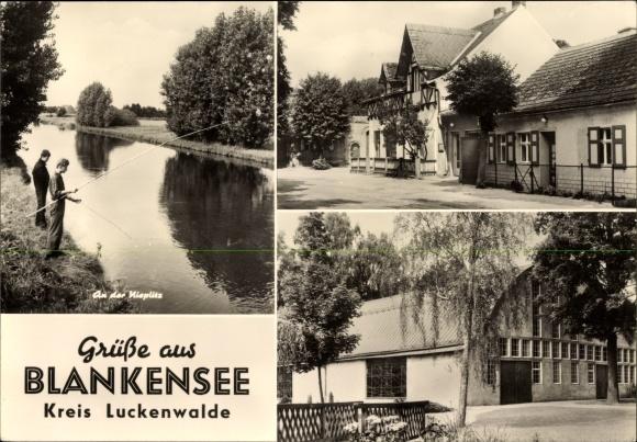 Other Historical Memorabilia Motive Aus Blankensee B.trebbin Von 1912