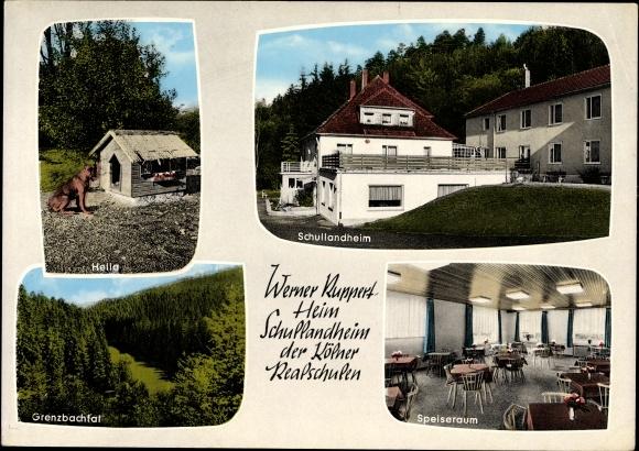 Ak Oberlahr im Landkreis Altenkirchen Westerwald Rheinland Pfalz, Werner Ruppert Schullandheim