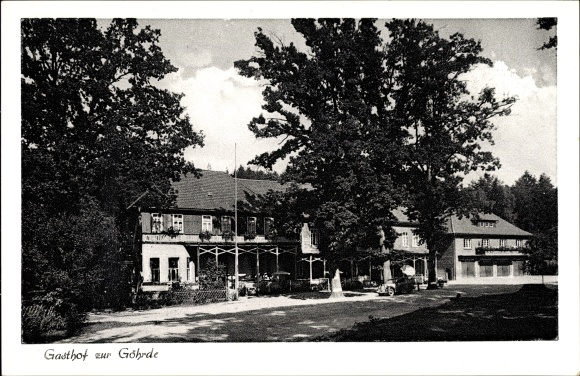 Ak Göhrde Niedersachsen, Gasthof zur Göhrde
