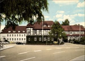 Ak Syke in Niedersachsen, Blick auf das Kreishaus