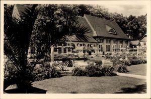 Ak Wernigerode am Harz, Kurgarten Storchmühle, Rudolf Kindermann, Außenbereich