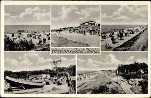 Ak Graal Müritz im Kreis Rostock, Strandpartie, Boote