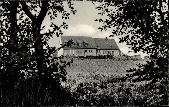 Ak Freisheim Berg, Schullandheim des Mädchen Gymnasiums Wuppertal Elberfeld