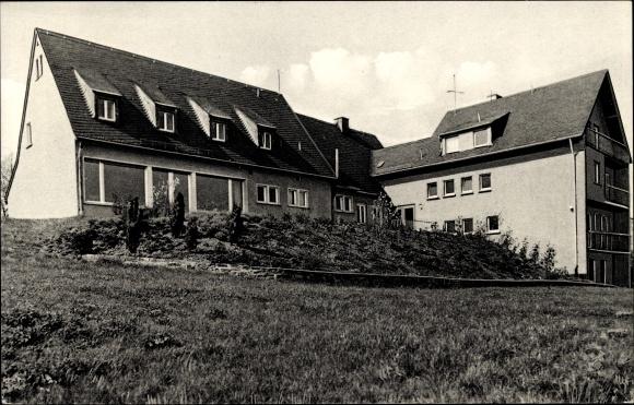 Ak Freisheim Berg in Rheinland Pfalz, Schullandheim des Mädchen Gymnasiums Wuppertal Elberfeld