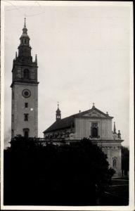 Foto Ak Litoměřice Leitmeritz Reg. Aussig, Kirche, Kostel
