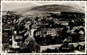 Ak Chrastava Kratzau Reg. Reichenberg, Totalansicht der Ortschaft