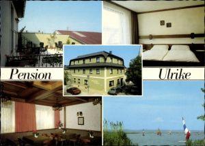 Ak Mörbisch am See im Burgenland Österreich, Pension Ulrike, Inh. Ingrid Fiedler, Pfarrhofsteg 2