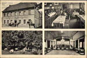 Ak Zwenkau in Sachsen, Gasthof zum Bergschlösschen, Bes. Reinhold Senf