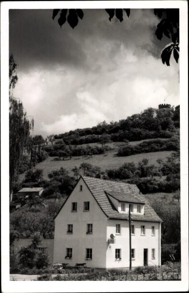 Foto Ak Hessisch Lichtenau im Werra Meißner Kreis, Gaststätte zur Walburg, Wagner Bräu