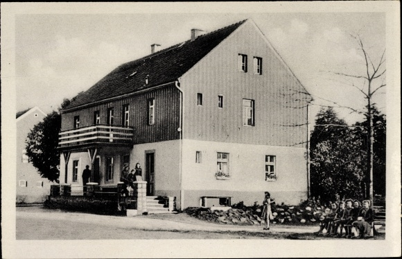 Ak Weinböhla in Sachsen, Partie am FDGB Ferienheim Heidehof