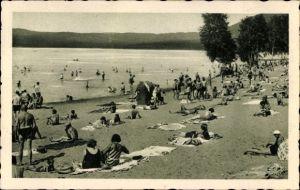 Ak Doksy Hirschberg am See Reg. Reichenberg, Stare Splavy, Strandpartie