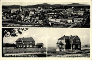 Ak Benneckenstein Hochharz, Skihaus des 4. Pionier Batl. Magdeburg und 12. Inf Regt Quedlinburg
