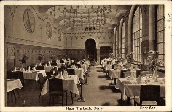 Ak Berlin Mitte, Haus Trarbach, Ansicht vom Erler Saal, Behrenstraße 47