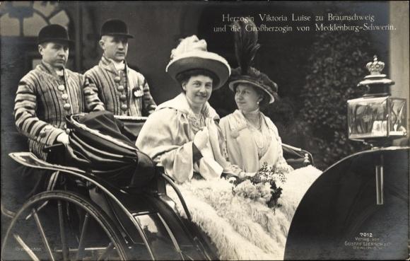 Ak Herzogin Viktoria Luise, Großherzogin von Mecklenburg Schwerin, Liersch 7012