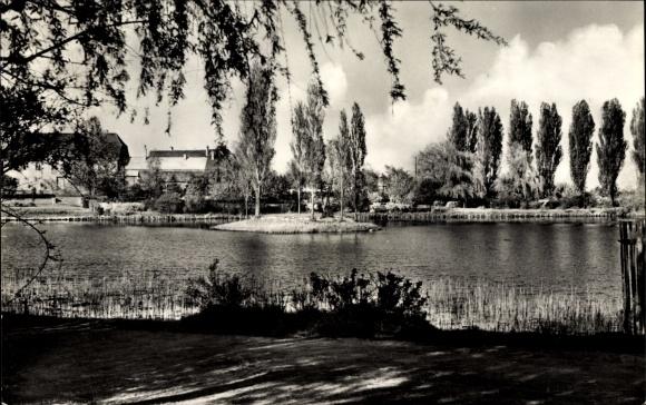 Ak Zörbig im Landkreis Anhalt Bitterfeld, Leipziger Teich