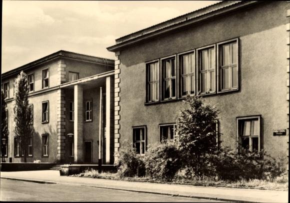 Ak Leipzig in Sachsen, Ingenieurschule für Post- und Fernmeldewesen Rosa Luxemburg