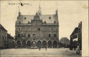 Ak Bocholt im Münsterland, Rathaus, Außenansicht