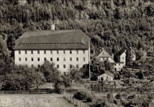 Ak Hammerleubsdorf Leubsdorf im Kreis Mittelsachsen, Betriebsferienheim Waldfrieden