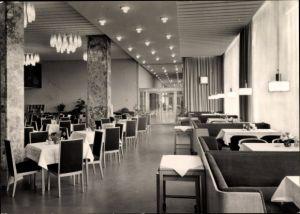 Ak Magdeburg in Sachsen Anhalt, Hotel International, Restaurant Moskwa
