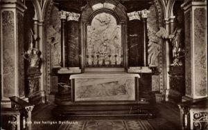 Ak Fulda in Osthessen, Grab des heiligen Bonifacius, Mamor