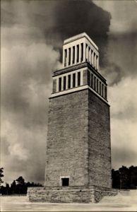 Ak Buchenwald Weimar in Thüringen, Mahn und Gedenkstätte, Konzentrationslager, Turm, Feierplatz