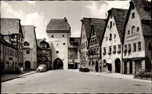 Ak Hersbruck im Nürnberger Land Bayern, Partie am Nürnberger Tor