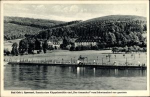 Ak Bad Orb im Main Kinzig Kreis Hessen, Sanatorium Küppelsmühle, Annenhof