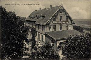 Ak Blankenburg am Harz, Hotel Pension Eichenberg, Inh. A. Rost