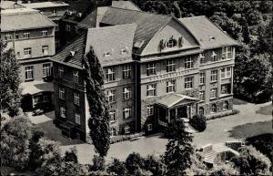 Ak Bad Kreuznach in Rheinland Pfalz, Blick auf Viktoriastift von oben