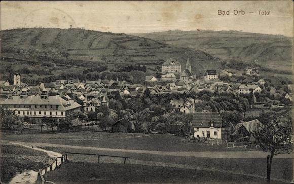 Ak Bad Orb im Main Kinzig Kreis Hessen, Gesamtansicht vom Ort