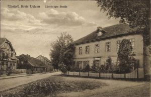 Ak Ebstorf in der Lüneburger Heide, Lüneburger Straße