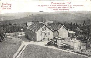 Ak Brotterode Trusetal in Thüringen, Inselsberg, Preussischer Hof